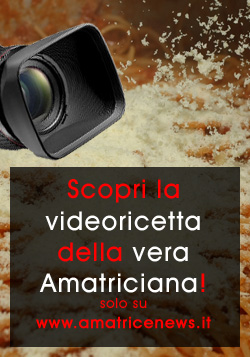 Video-ricetta dell'Amatriciana